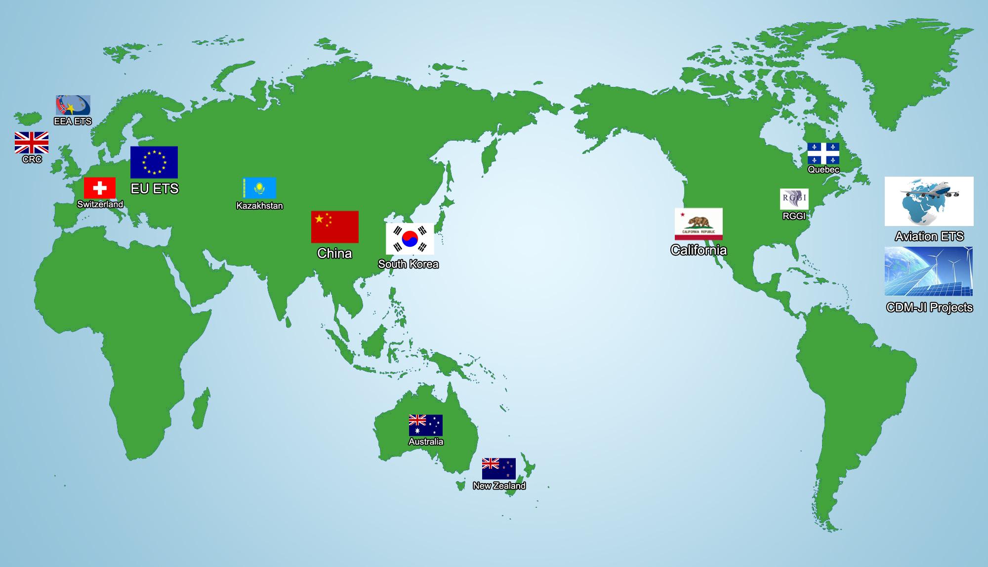 World Carbon Market Database
